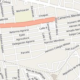 Colonia Maestranza 42060 Pachuca De Soto Hidalgo